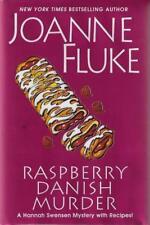 Raspberry Danish Murder Hannah Swensen Mystery Joanne Fluke SIGNED First Edition