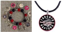 toronto raptors Bracelet And Necklace Set
