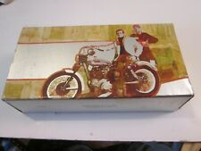 Super Cycle Motorcycle Wild Country Avon After Shave Nib Glass 4 Oz in Box
