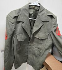*Vintage Us Marine Corps Enlisted Ike Jacket - size 40R