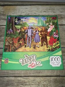 The Wizard of Oz 1000 Piece Jigsaw Puzzle Off To See The Wizard NEW Fast Ship