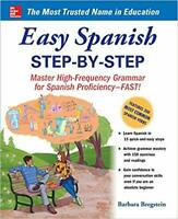 Easy Spanish Step-By-Step by Barbara Bregstein PAPERBACK 2005