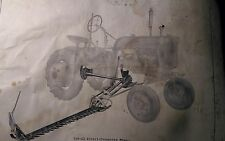 Farmall IH International Harvester Cub Tractor CUB-22 Mower Owners Manual 24pg