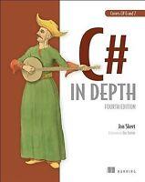 C# in Depth, Paperback by Skeet, Jon; Lippert, Eric (FRW), Like New Used, Fre...