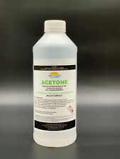 ACETONE 100% PURE, NAIL POLISH REMOVER, PAINT/GEL/ACRYLIC REMOVER 1L, OZ Stock