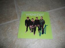 Weezer Pat Autographed Signed Music CD Cover Photo PSA Guaranteed #1