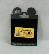 Disney D23 Pin Expo Archives Treasures of the Walt At Reagan Library Ticket