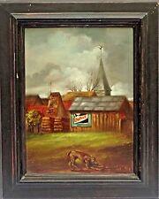 Attr. to Joseph Sherly Sheppard (American, b.1930) Original Oil Painting, c.1964