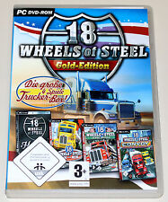 18 WHEELS OF STEEL - GOLD EDITION PC CONVOY ACROSS AMERICA HAULIN PEDAL TO METAL