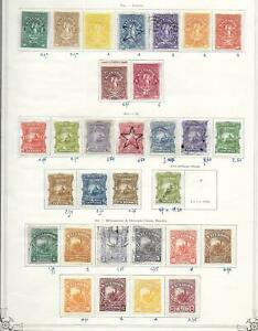 Salvador stamps 1890 Collection of 30 CLASSIC stamps HIGH VALUE!