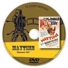 Maytime 1937 DVD Film Jeanette MacDonald, John Barrymore Drama, Musical, Romance