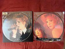 Mylène Farmer vinyles picture disc Plus Grandir live et Ainsi Soit je - NEUF