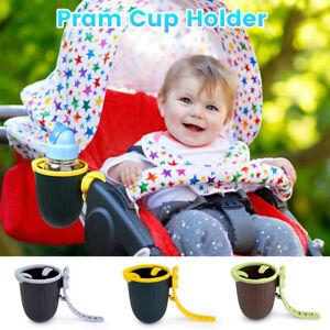 Stroller Cup Holder 360 Degree Rotation Universal Pram Cup Holder Baby Bottle
