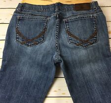 Pink Victoria's Secret Women Whiskers Light Washed Boot Cut Jeans Size 8R
