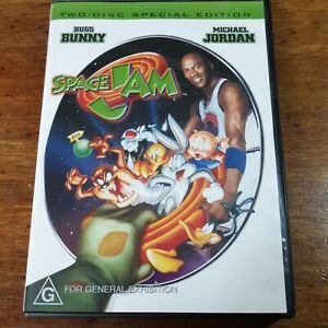 Space Jam DVD Special Edition R4 LIKE NEW FREE POST