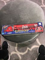 Winners Circle Die Cast Collector Trailer Rig Dale Earnhardt Jr. damaged box