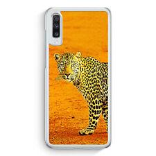 Leopard Samsung Galaxy A70 Hülle Motiv Design Tiere Schön Cover Hardcase Hand...