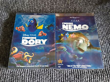 Finding Nemo & Finding Dory Dvd Two-Disc Collector's Edition Brand New Bundle