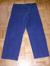 Arbeitshose Stallhose Monteurhose  Baumwolle blau Gr. 56 - 2 STÜCK