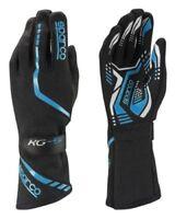 Sparco TORPEDO KG-5 XS 8 BLACK BLUE Gloves Kart Karting Rally Race