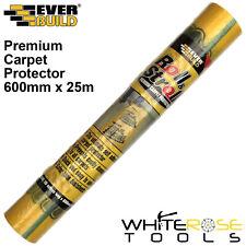 EverBuild Roll and Stroll Premium Carpet Protector Waterproof Floor 600mm x 25m