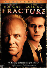 FRACTURE  (DVD, 2007) Anthony Hopkins, DISC ONLY, PLEASE READ