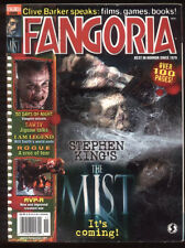 Fangoria 268 Stephen King The Mist 30 Days of Night I Am Legend Rogue MBX83