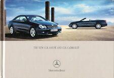 Mercedes-Benz CLK Coupe & Convertible 2005-07 UK Market Hardback Sales Brochure