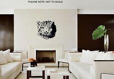 SNOW LEOPARD- WALL ART DECAL STICKER