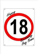 Birthday Speed Sign - Any Age - Any Occassion - Any Name - Get friends to sign