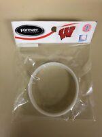 Wisconsin Badgers Wristband Bracelet Silicone