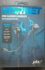 Hornet PRO Earbuds Wired Ear Buds + Mic PS4 XBOX ONE NINTENDO SWITCH PC