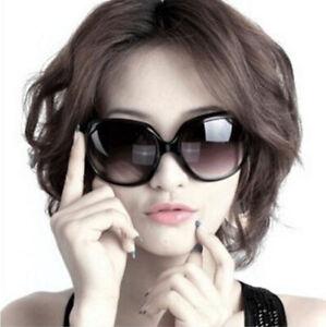 Fashion Womens Polarized Sunglasses Oversized Retro Designer Eyewear Shades #C