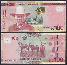 Namibia   100 Namibia Dollars   2012   Pick 14b   SC = UNC