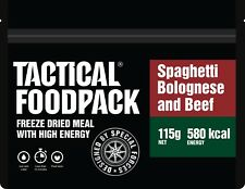 Tactical Foodpack Spaghetti Bolognese High Energy Freeze Dried Ration Pack / MRE