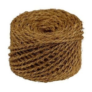 Kokosseil 2 x 50 m Kokosband Baumbinder Dekoseil Seil Kokosgarn Kokosschnur