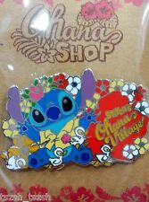 Vhtf Ohana Village Stitch and Ugly Ducklings Le 1000 Pin (Japan Jds shop Disney)