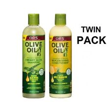 ORS CREAMY Olive Oil Shampoo & Conditioner  TWIN PACK