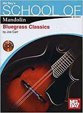 School of Mandolin: Bluegrass Classics, New, Carr, Joe Book