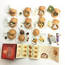 Hong Kong Dim Sum Figure Collection Miniature 12pcs Full Set Kaiyodo Japan