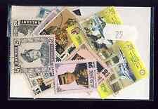 Brunei 25 timbres différents oblitérés