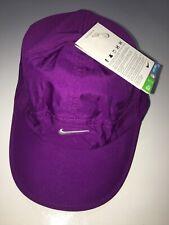 NIKE Womens Tennis Hat Cap Dri-Fit Stay Cool 613968 519 Purple FREE SHIPPING
