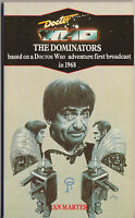 Rare: Doctor Who - The Dominators. VGC blue spine edition. Target books.