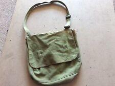 Ancien sac militaire kaki vintage