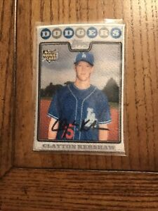 2021 Topps Series 1 Clayton Kershaw Iconic Card Patch Dodgers Rookie Reprint