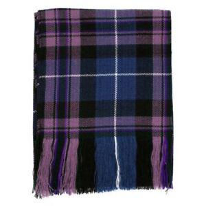 New Ladies Pride of Scotland Scottish Tartan Budget Sash 100% Wool Acrylic