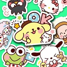 48 pc. Adorable Sanrio Sticker Collection, Journal Stickers, Kawaii Stickers