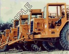 CATERPILLAR CAT 627B Srapers - Peirce Constr Co, Toledo 8x10 Color Glossy Photo