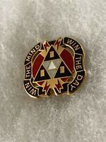 Authentic US Army 9th Psychological Operations Battalion DUI DI Crest Insignia