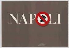 1985 David Hillman NAPOLI: Cultural Contribution Graphic Design Pentagram POSTER